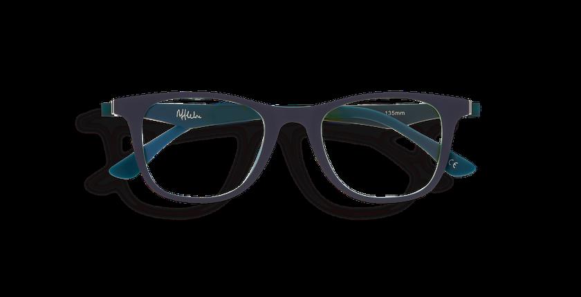 Gafas graduadas niños MAGIC 30 BLUE BLOCK azul/verde - vista de frente