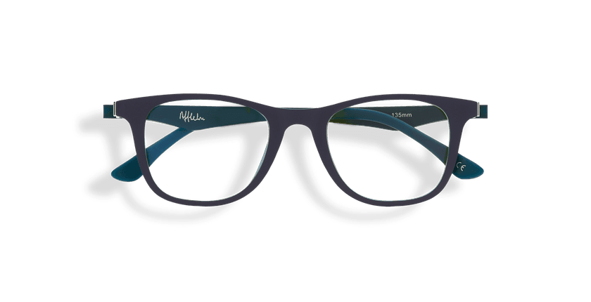Gafas graduadas niños MAGIC 30 BLUE BLOCK azul/verde - vista de frente