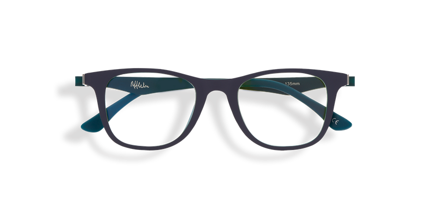 Gafas de sol niños MAGIC 30 BLUE BLOCK azul/verde - vista de frente