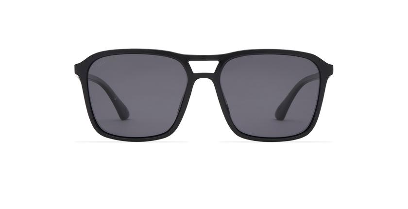 Gafas de sol hombre TAVERIO POLARIZED negro - vista de frente