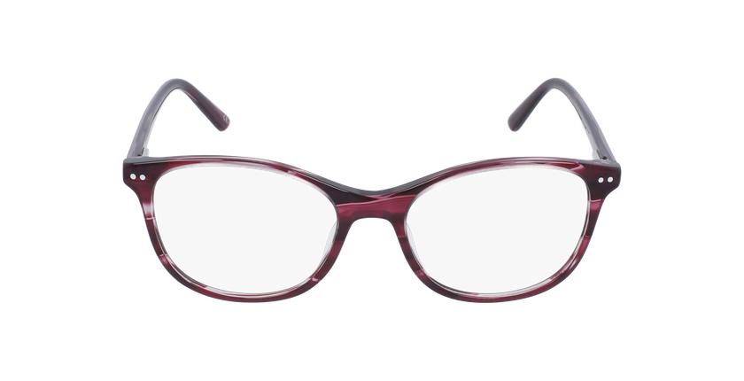 Gafas graduadas niños PAULA rosa - vista de frente