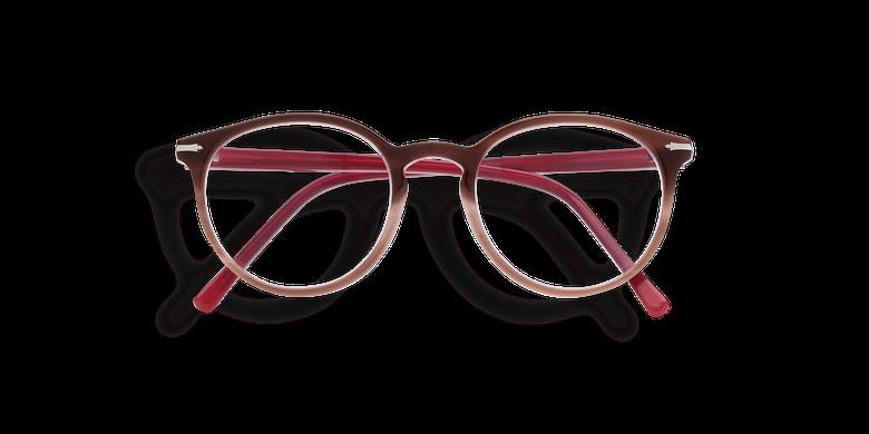 Gafas graduadas mujer OYONNAX marrón/rosa
