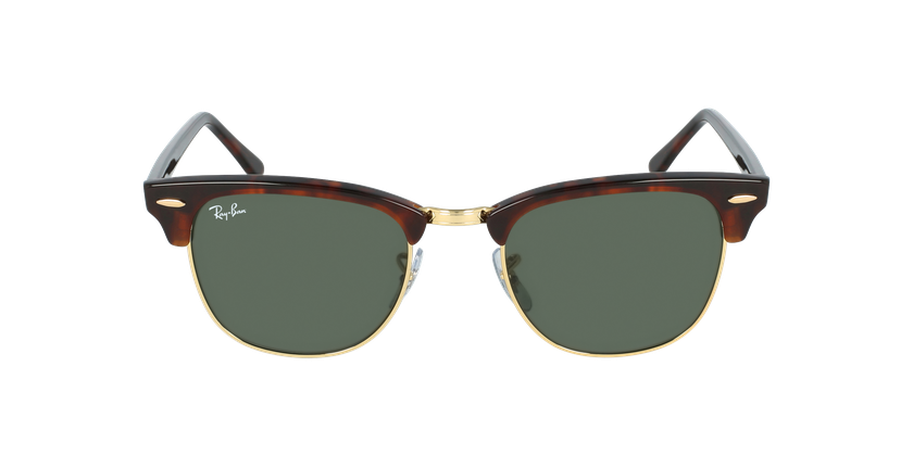 Gafas de sol CLUBMASTER marrón/carey - vista de frente