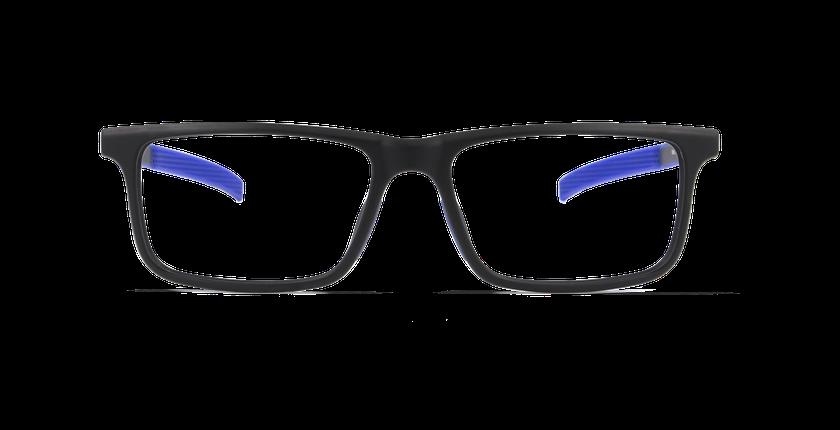 Gafas graduadas hombre SERGE negro - vista de frente