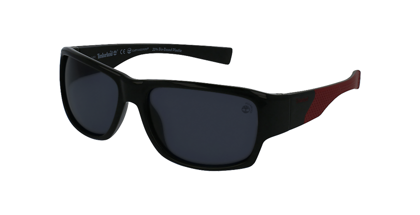 Gafas de sol hombre TB9203 negro - vue de 3/4