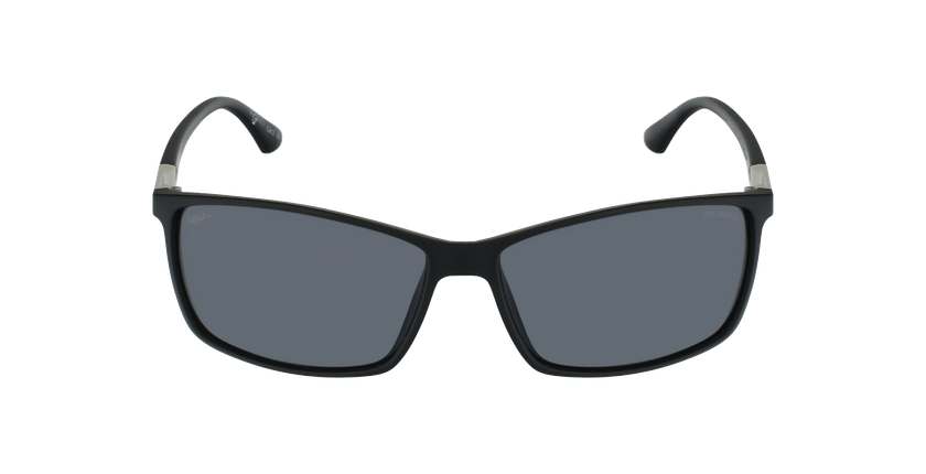 Gafas de sol hombre SHAUN POLARIZED negro - vista de frente