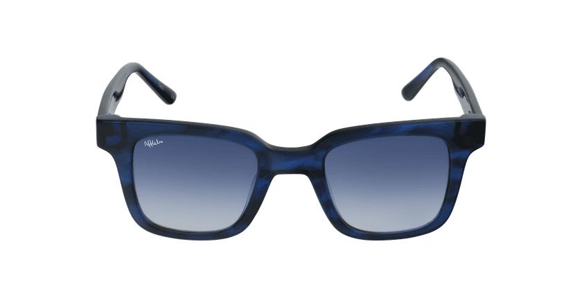 Gafas de sol mujer KAREN carey/azul - vista de frente