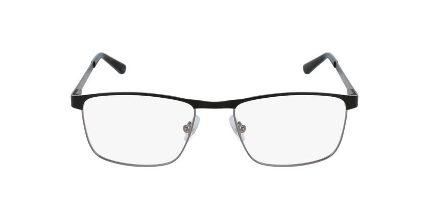 Gafas graduadas hombre GUIDO negro/gris - vista de frente