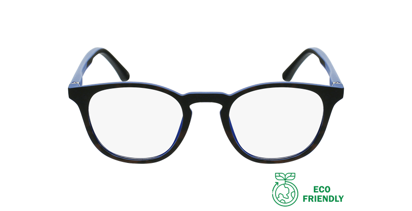 Gafas graduadas niños MAGIC 79 ECO-RESPONSABLE azul/turquesa - vista de frente