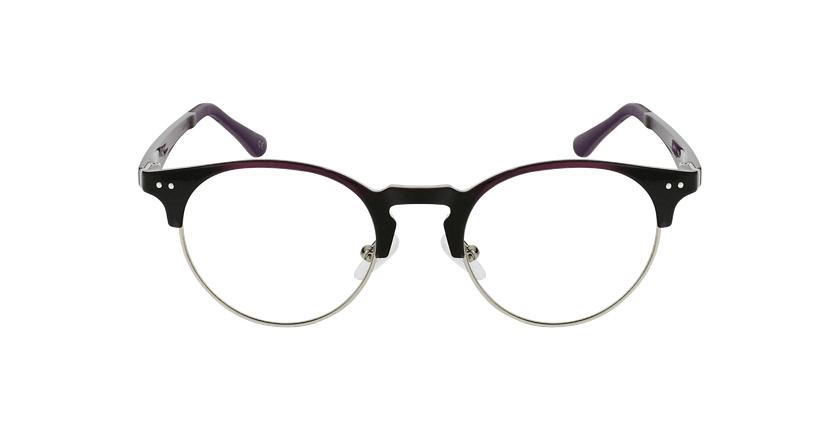 Gafas graduadas TMG93 morado/plateado - vista de frente