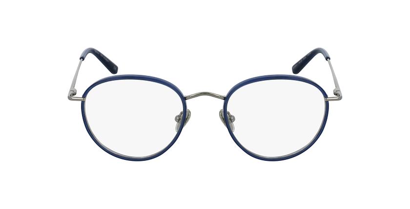 Gafas graduadas SHUBERT azul/plateado - vista de frente