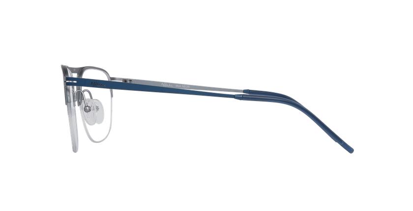 Gafas graduadas hombre NEON azul/plateado - vista de lado