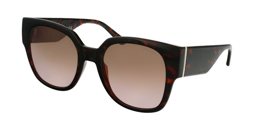 Gafas de sol mujer GU7727 marrón - vue de 3/4