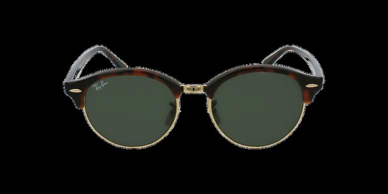 Gafas de sol CLUBROUND marrónvista de frente