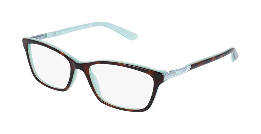 Gafas graduadas mujer RA7044 carey/azul - vue de 3/4