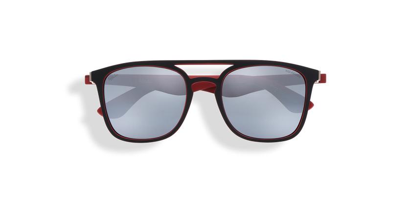 Gafas de sol OSTUNI POLARIZED negro/rojo - vista de frente