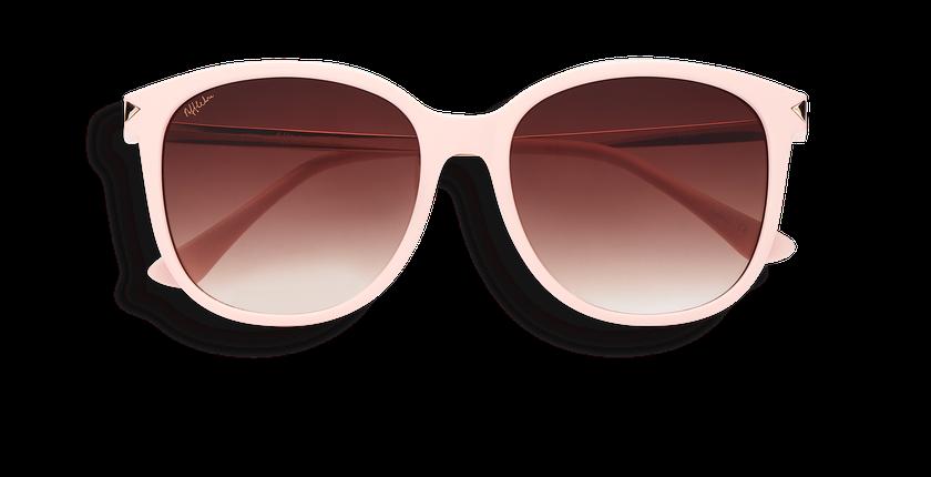 Gafas de sol mujer UNCIA rosa - vista de frente