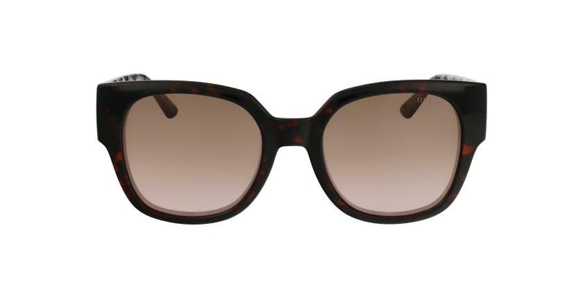 Gafas de sol mujer GU7727 marrón - vista de frente