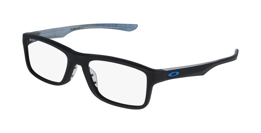 Gafas graduadas PLANK 2.0 OX 8081 negro/negro - vue de 3/4