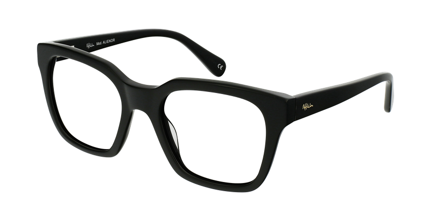 Gafas graduadas mujer OAF21620 negro - vue de 3/4