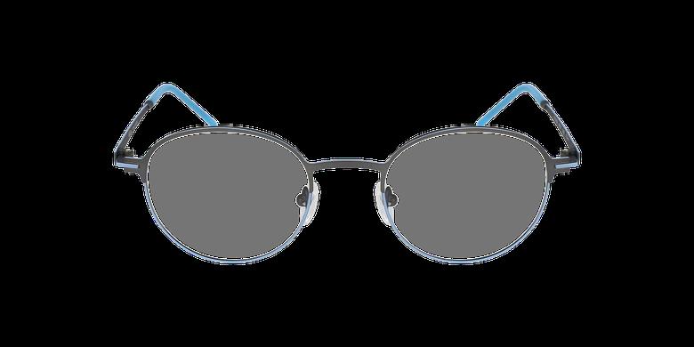 Gafas graduadas MARS azul/grisvista de frente