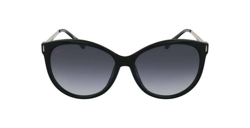 Gafas de sol mujer ZAFRA negro/dorado - vista de frente