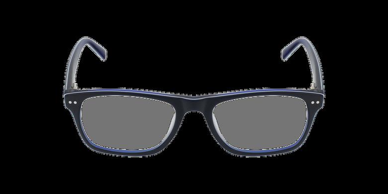 Gafas graduadas niños TED azul/blancovista de frente