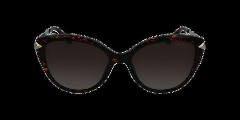 Gafas de sol mujer GU7658 marrónvista de frente