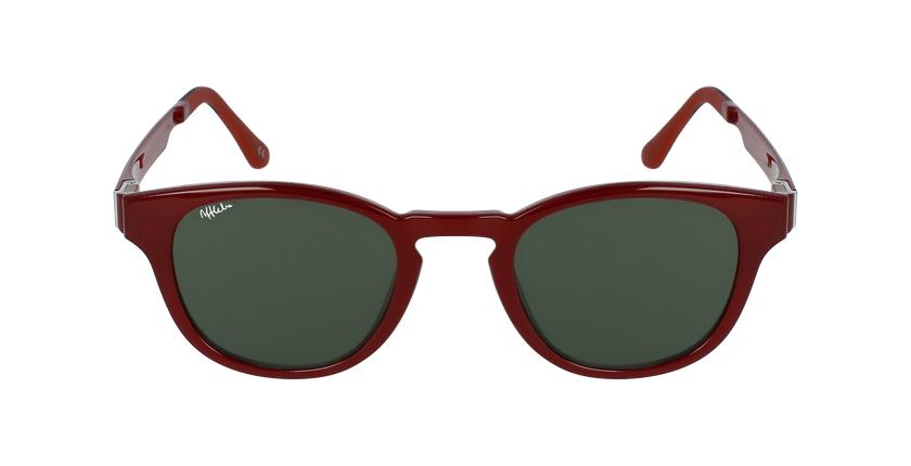 Gafas graduadas hombre MAGIC 03 rojo - vista de frente