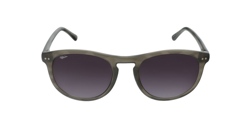 Gafas de sol hombre GUILLAUME blanco/gris - vista de frente
