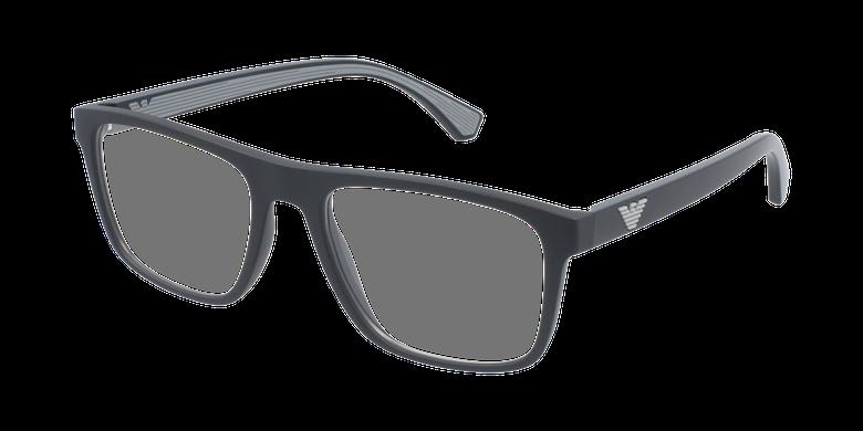Gafas graduadas hombre EA 3159 negro/negro