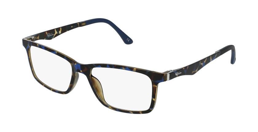 Gafas graduadas hombre MAGIC 32 BLUE BLOCK carey/azul - vue de 3/4