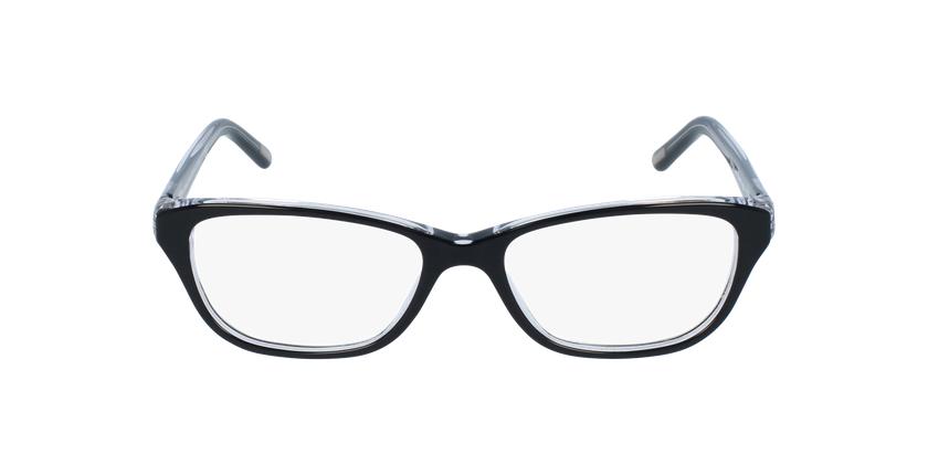 Gafas graduadas mujer RA7020 negro - vista de frente