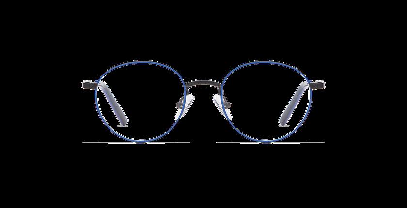 Gafas graduadas niños DOM azul/negro - vista de frente