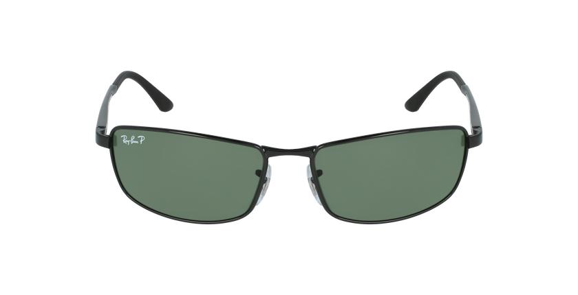 Gafas de sol hombre 0RB3498 negro - vista de frente