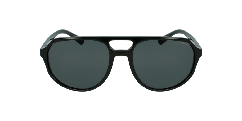 Gafas de sol hombre 0EA4111 negrovista de frente