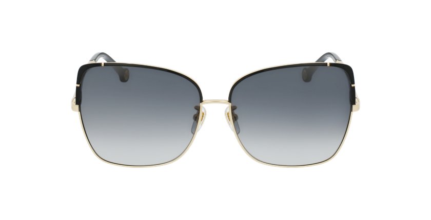 Gafas de sol mujer SHE172 dorado/negro - vista de frente