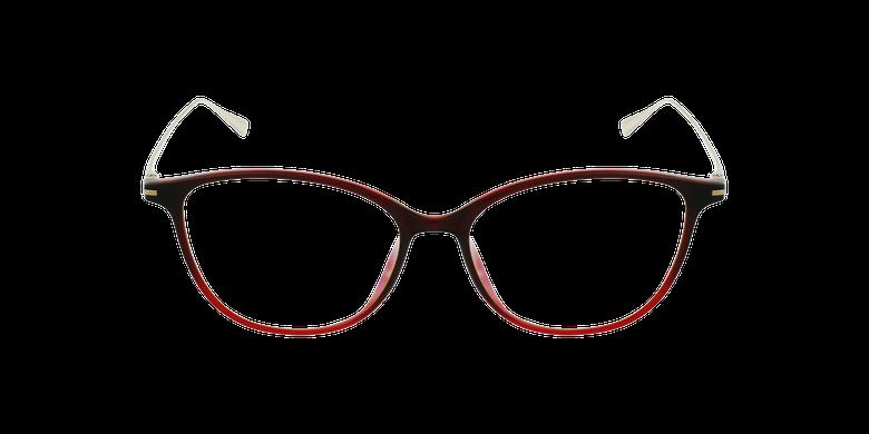 Gafas graduadas mujer MAGIC 69 rojo/dorado