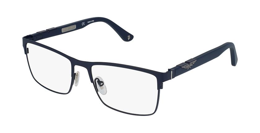 Gafas graduadas hombre VPL885 azul/azul - vue de 3/4