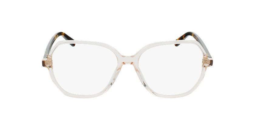 Gafas graduadas mujer CONSTANCE marrón - vista de frente