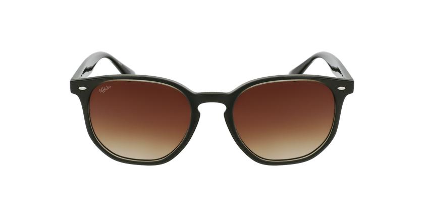 Gafas de sol SOLARES verde - vista de frente