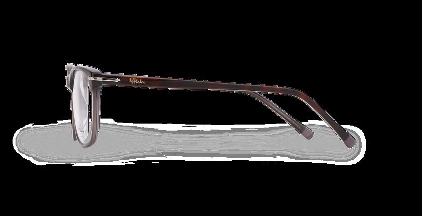 Gafas graduadas hombre ARBOIS carey/gris - vista de lado