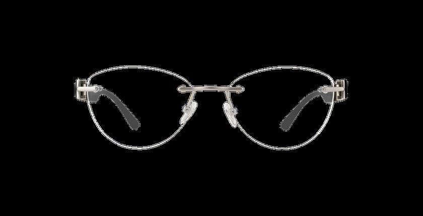 Gafas graduadas mujer MIX TONIC 10 plateado - vista de frente