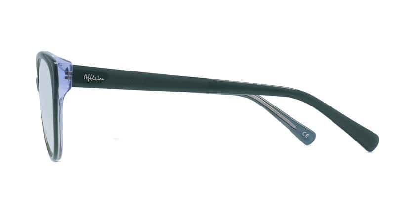 Gafas graduadas mujer OAF20521 verde - vista de lado