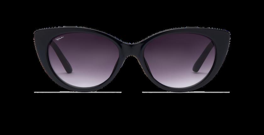 Gafas de sol mujer OLARIA negro - vista de frente