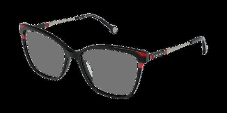 Gafas graduadas mujer VHE850 negro/rojo