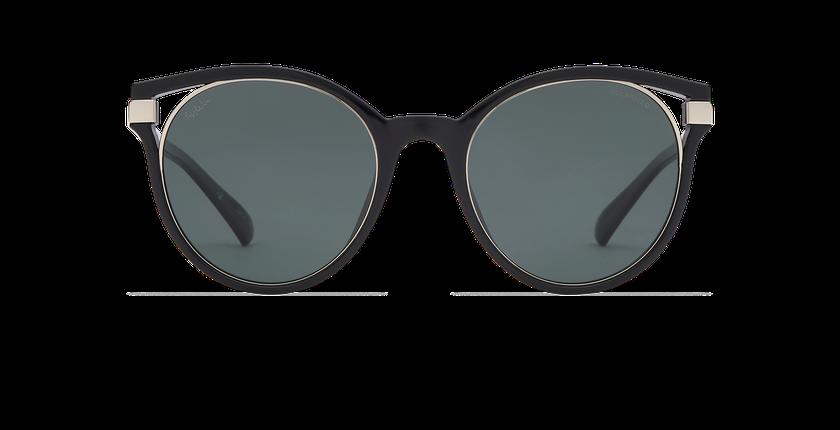 Gafas de sol mujer IOVANA POLARIZED negro/plateado - vista de frente
