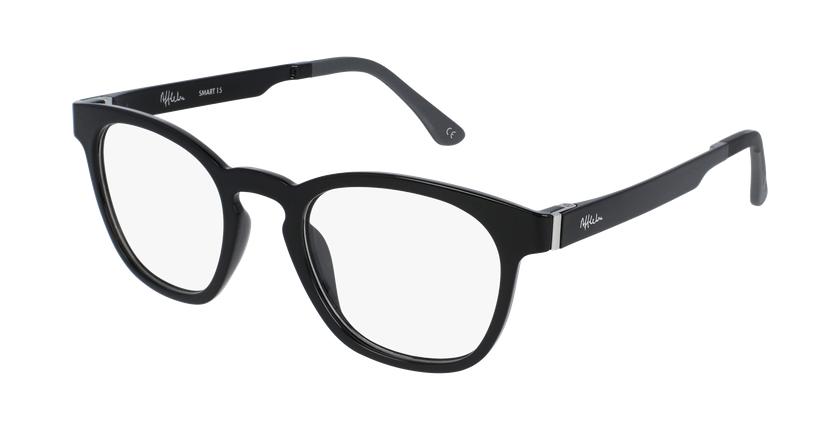 Gafas de sol hombre MAGIC 15 negro/negro brillante - vue de 3/4
