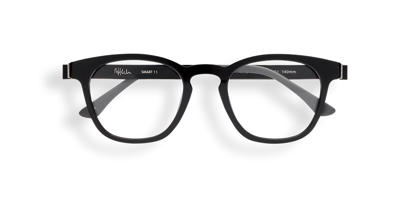 Gafas graduadas hombre MAGIC 15 negro/negro brillante - vista de frente