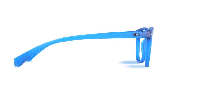Gafas graduadas BLUE BLOCK UNISEX azul - vista de lado